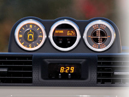 Dashboard Clock It Fell In Toyota Fj Cruiser Forum