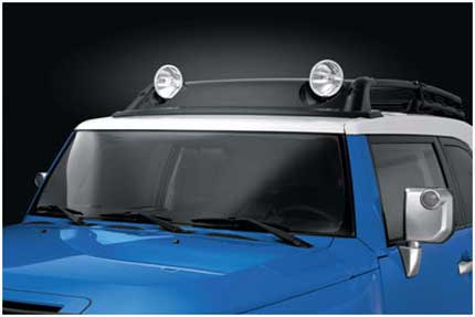 Fj Cruiser Parts Accessories Fjcpw Roof Rack Air Dam Kit With Lights